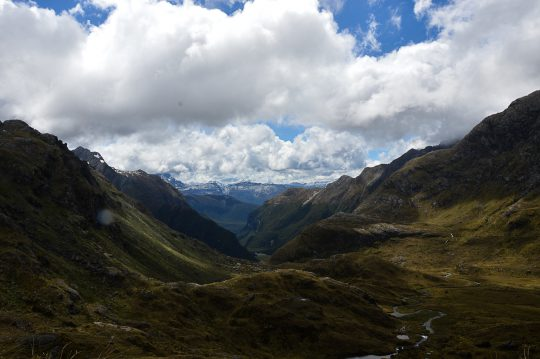 The Routeburn New Zealand